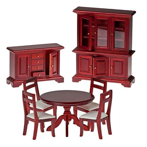 Набор мебели для столовой, махагон