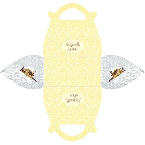 Подарочная коробочка Саквояж Canary, 2 шт в уп
