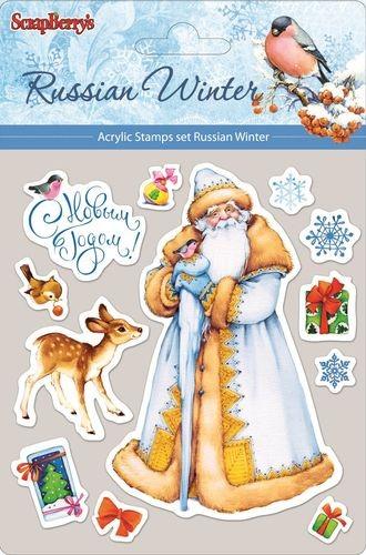Набор штампов Русская зима