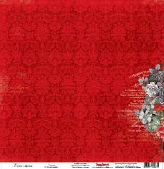 Бумага для скрапбукинга 30,5х30,5 см 180 гр/м односторон Элегия Венера, 10 шт*уп