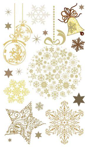 Набор натирок 12*20см Время Чудес Новогодние узоры