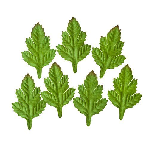 Набор листочков, 7 шт, Кустарник