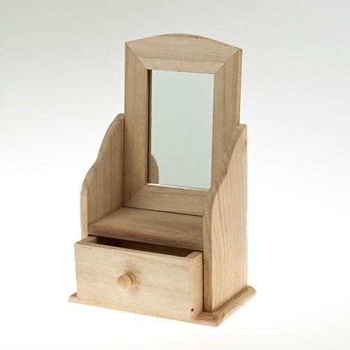 Комодик с зеркалом 13*8*21 см