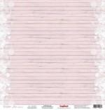 Бумага для скрапбукинга 30,5х30,5 см 180 гр/м одностор Зимнее Утро Узоры, 1 лист