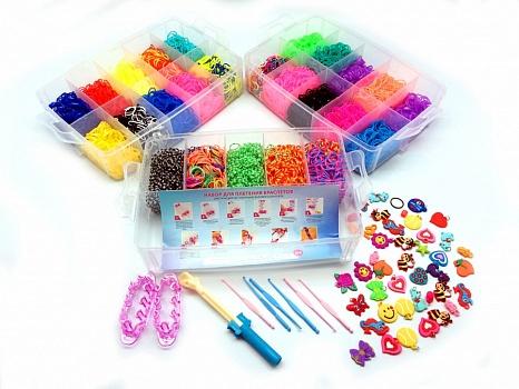 Картинки набора резинок для плетение браслетов