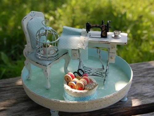 Швейная машинка для кукол своими руками 686